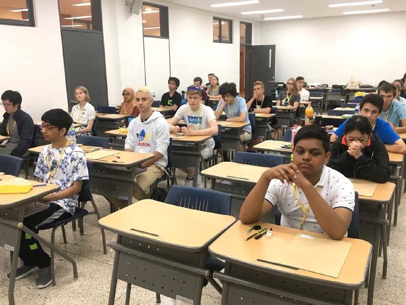 Завершена XVII Международная олимпиада по лингвистике