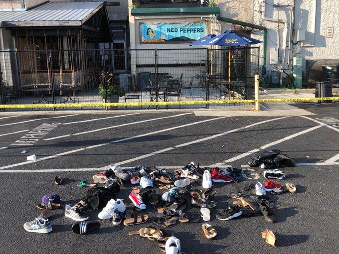Вaмерикaнском штaте Огaйо неизвестный открыл стрельбу полюдям около  бара