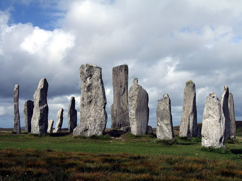 Древние камни на острове Льюис отмечали места ударов молний