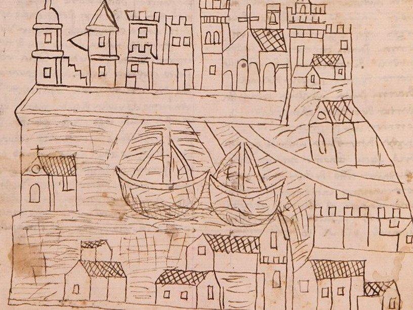 В сочинении монаха XIV века обнаружилось древнейшее известное изображение Венеции